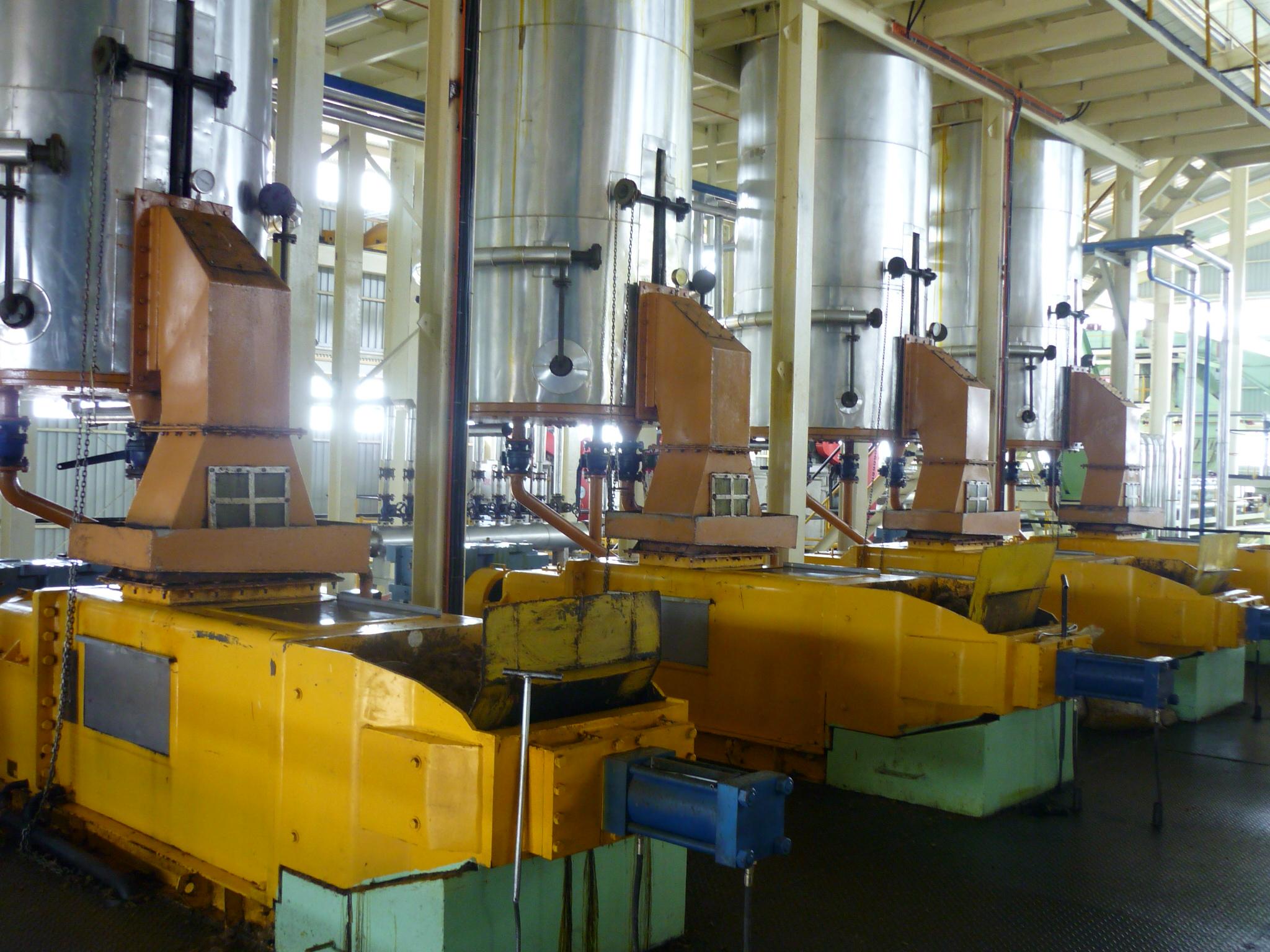 Peralatan Pabrik Kelapa Sawit