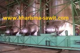 Kerja Sterilizer pada Pabrik Kelapa Sawit
